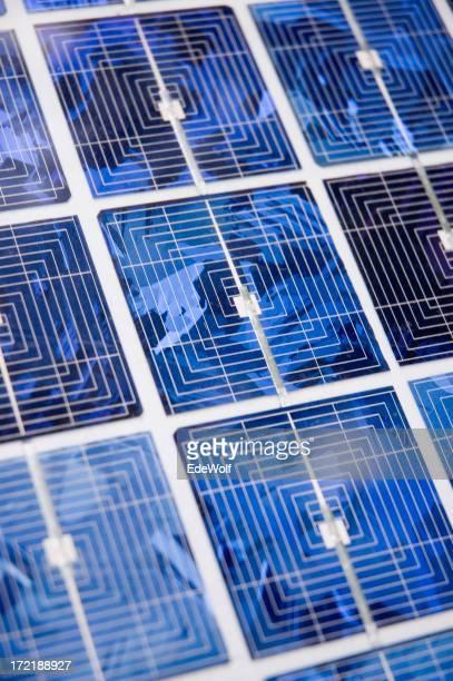 Solar Zelle abstrakte
