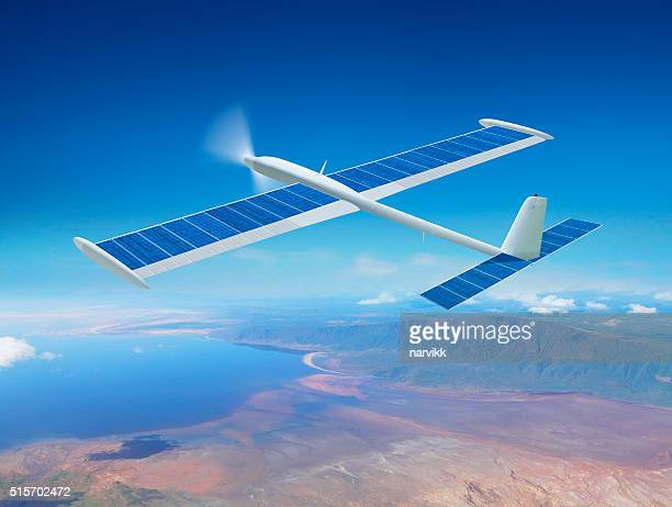 Solar Hintergrundgeräusche Flugzeug