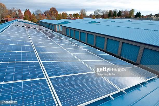 Energía Solar panels