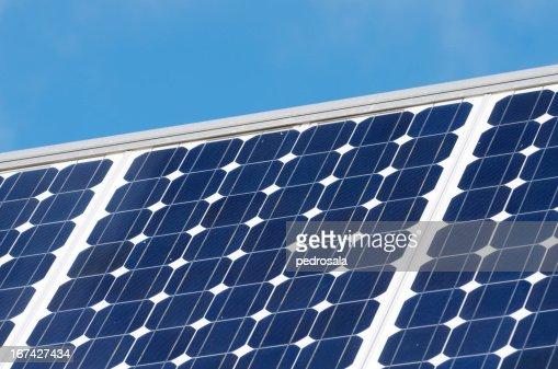 Energia solar : Foto de stock