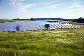 Solar farm in Bavaria