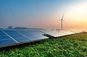Solar panels on the farm