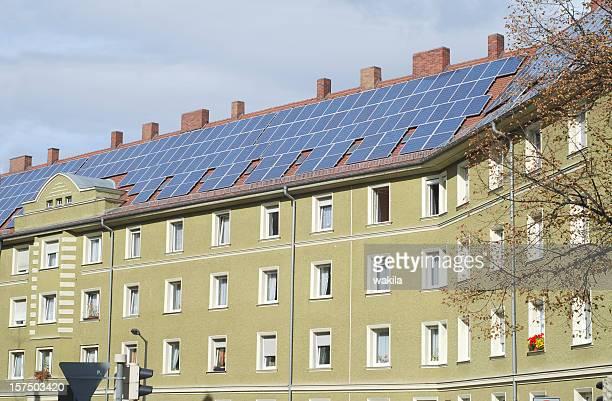 Maison solaire Solarpanels auf Mietshaus type appartement