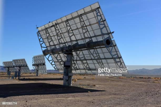 Solar panel at Mesquite, Nevada, USA