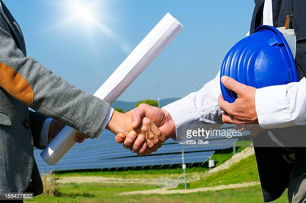 Solar Panel Handshaking