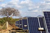 Solar panel in Kenya