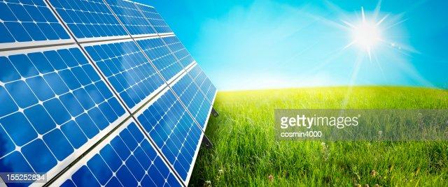 solar panel : Stock Photo