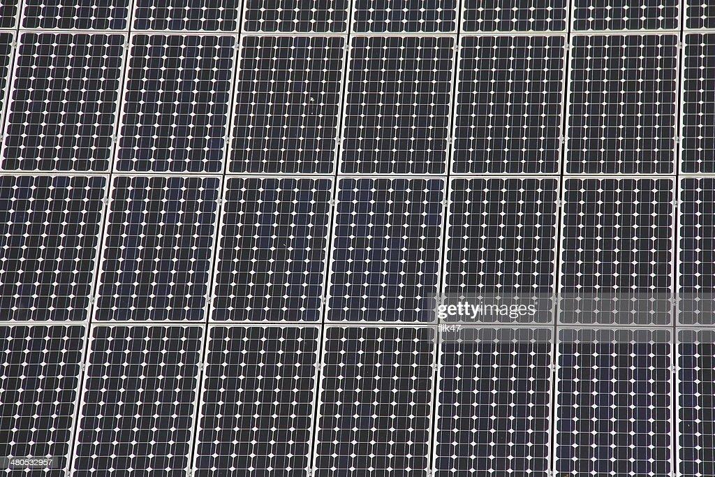 Solar-Anschlussleisten ermöglichen die Herstellung von saubere Energie : Stock-Foto