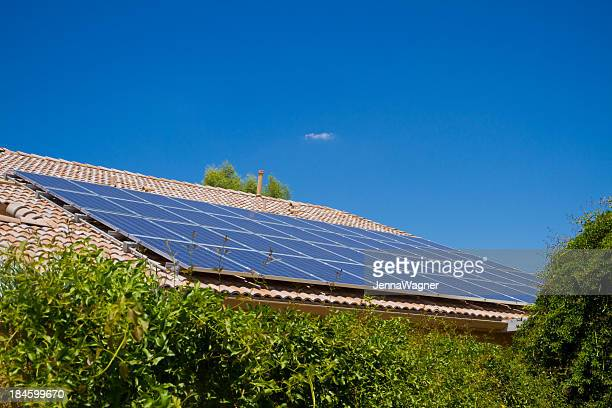 Solar Panels and Greenery