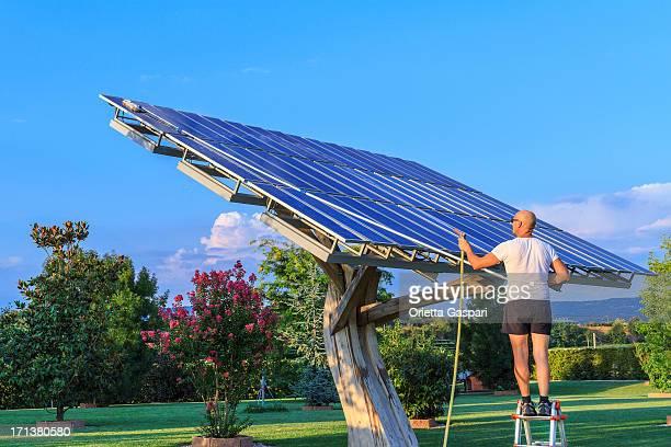 Solarkollektoren Reinigung