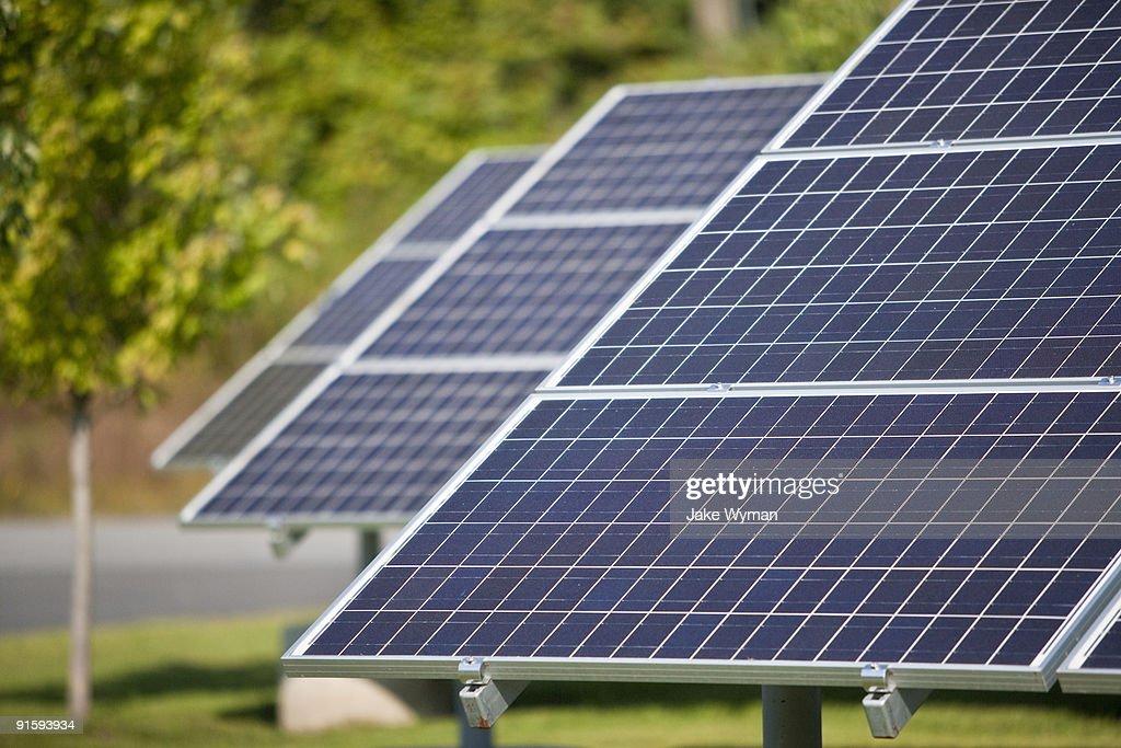 Solar Panels : Stock Photo