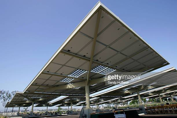 Parking Lot Solar Panels Stock Photos And Pictures Getty