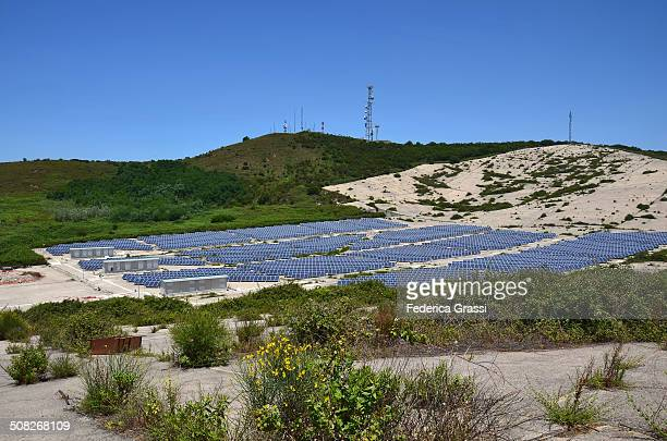 Solar Power Field
