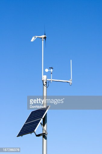 Solar Powered Weather Monitoring Station