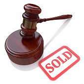 Sold auction in the design of information related to trade