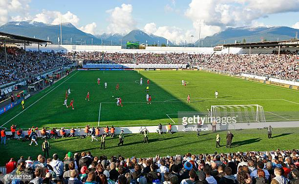 A sold out crowd looks on as the Vancouver Whitecaps FC play the Toronto FC during their inaugural MLS game March 19 2011 in Vancouver British...