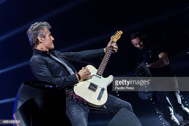 Sold out for the first two Turin stages of 'Monovision Tour' of the rocker of Correggio Luciano Ligabue at PalaAlpitour The new album titled 'Around...