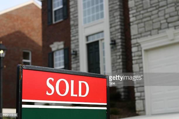 Sold Sign Horizontal