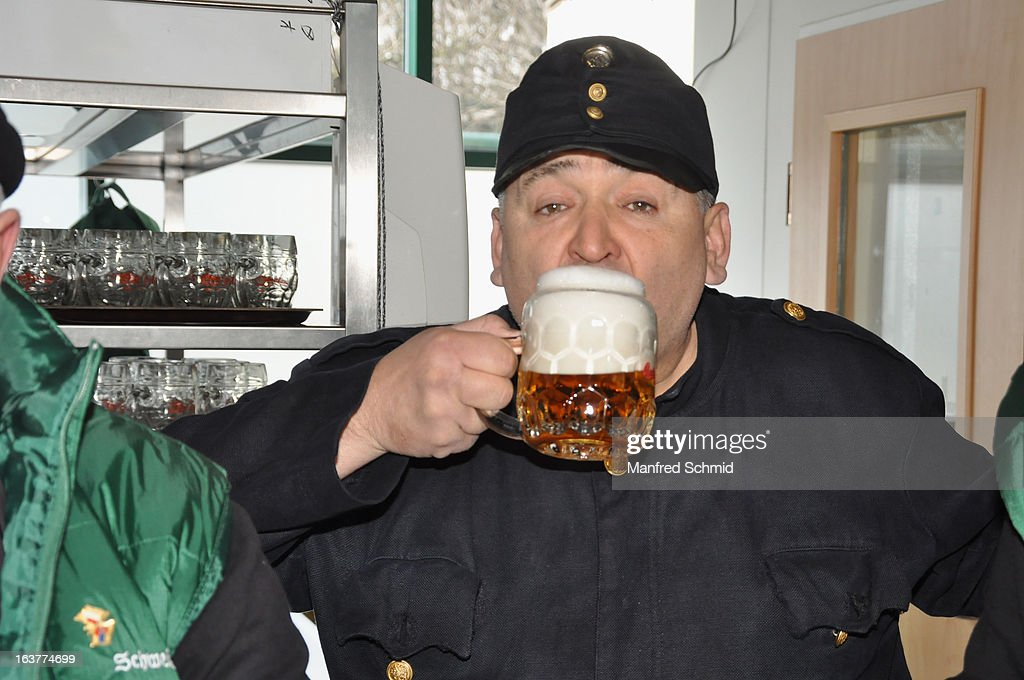 Soldat Schwejk during the opening of Schweizerhaus Wien on March 15, 2013 in Vienna, Austria.