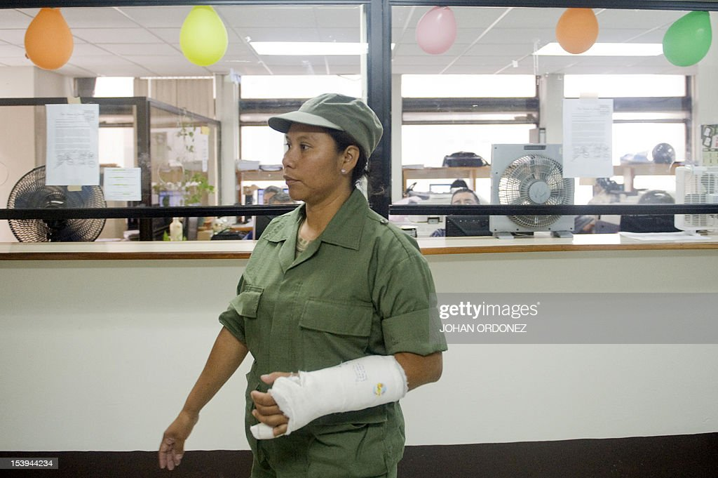 Soldier Ana Cervantes one of eight soldiers and a colonel accused of the extrajudicial execution of eight natives during clashes between soldiers and...