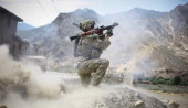 US soldier from 212 Infantry Regiment out of Colorado Springs fires an Afghan rocketpropelled grenade during a firefight with insurgents on June 22...