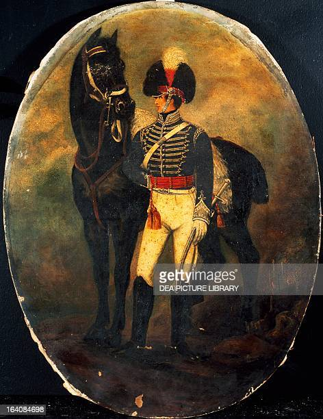 Soldier from the 25th Light Dragoons by an unknown artist oil on canvas England 19th century London National Army Museum
