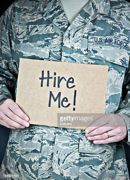 Soldier Looking for Work