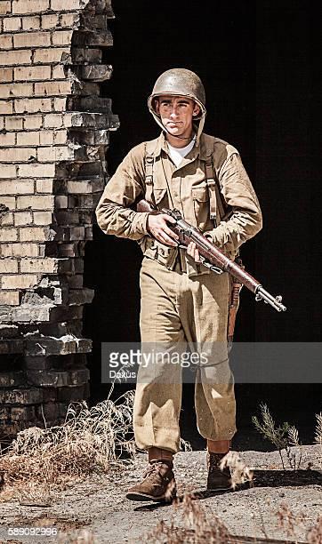 ミナミコメツキパトロール、第 2 次世界大戦の