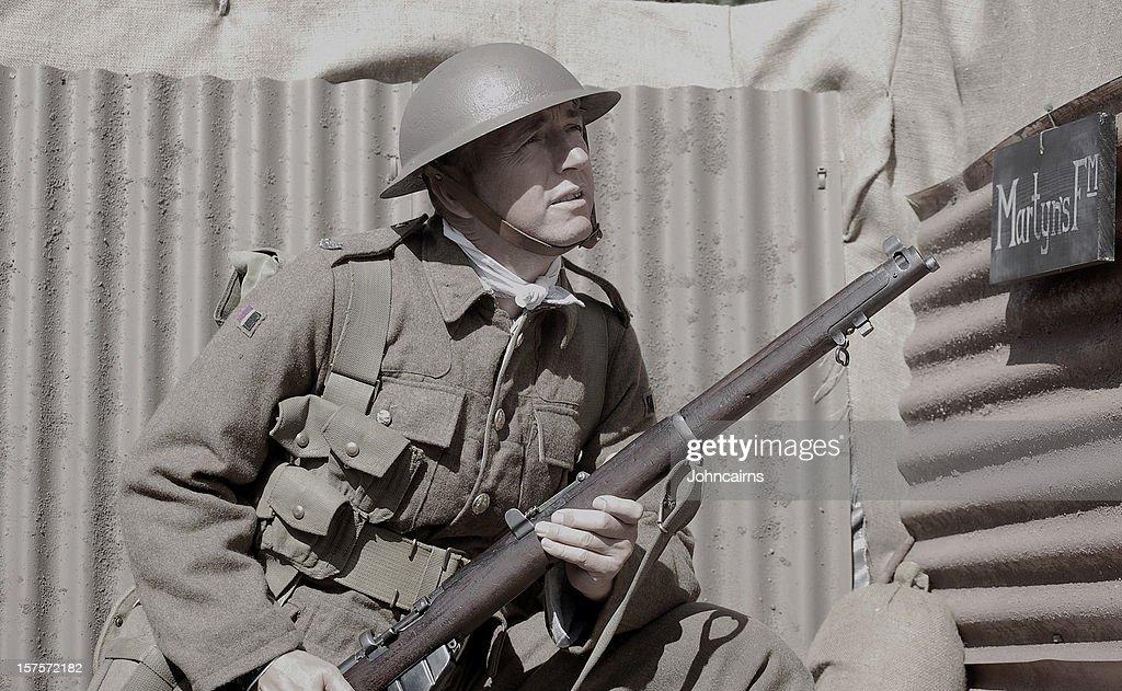 Soldat Première Guerre mondiale. : Photo