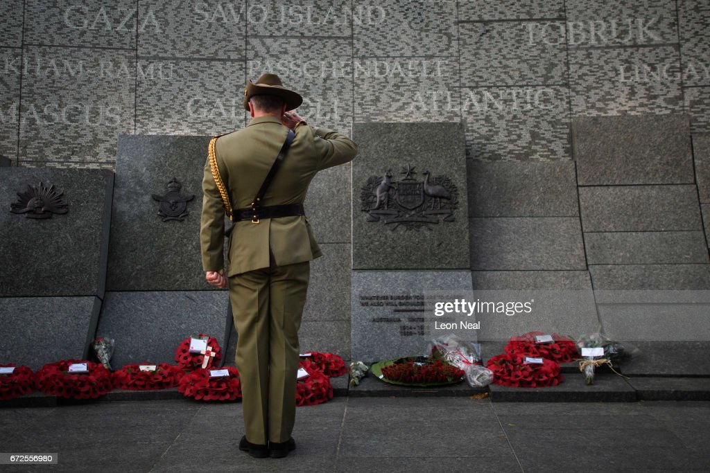 ANZAC Day Commemorated at London's Australian War Memorial