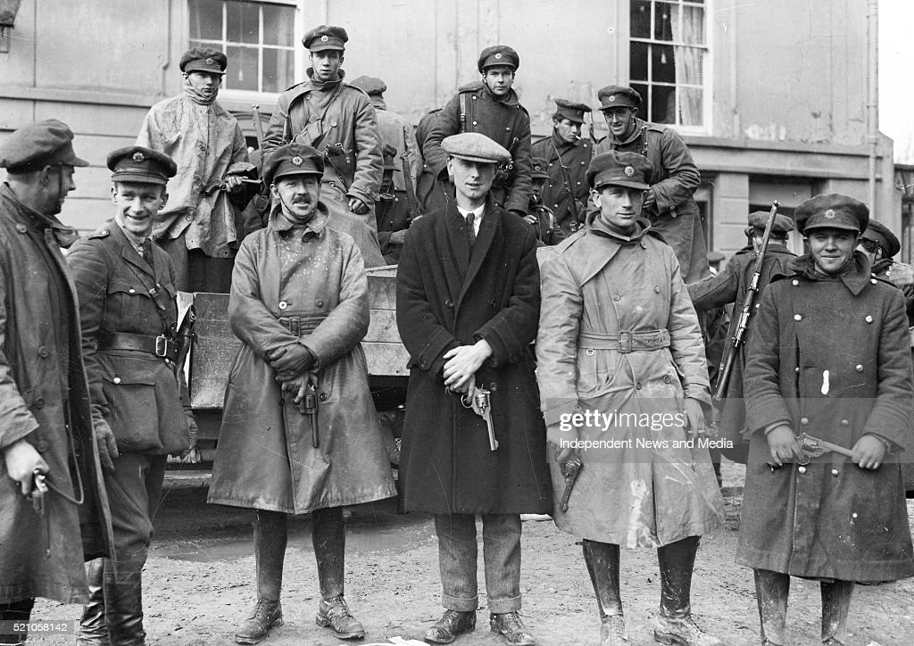 Soldiers after taking over the Curragh camp from the British Circa 1923