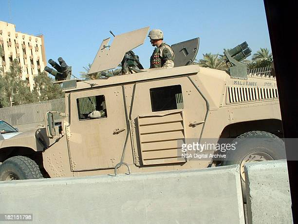 US Soldiers in Baghdad I Authentic Iraq War Photo