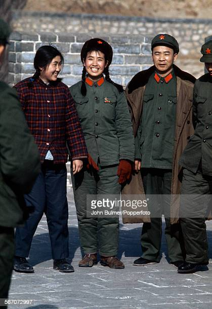 Soldiers in Beijing China during the Cultural Revolution 1973
