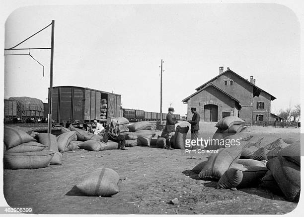 Soldiers of the French Foreign Legion at a railway yard Syria 20th century The French Foreign Legion was established in 1831 as an elite unit of...