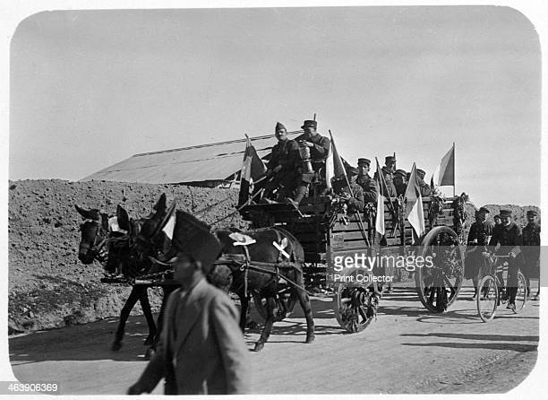 Soldiers of the French Foreign Legion travelling by wagon Syria 20th century The French Foreign Legion was established in 1831 as an elite unit of...