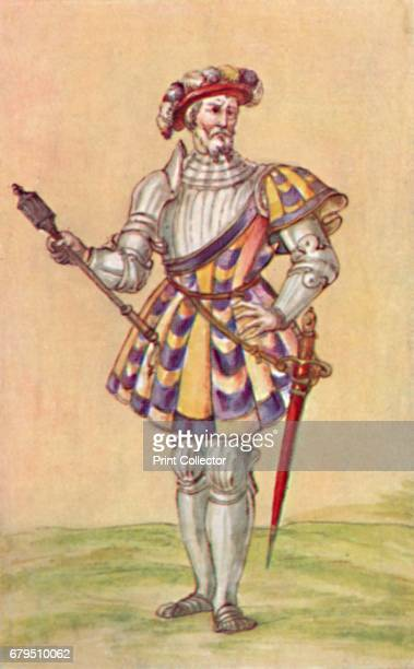 Soldiers of the Tudor Period' c16th century From Social England Volume III edited by HD Traill DCL and J S Mann MA [Cassell and Company Limited...