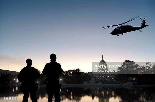 Soldiers Provide Homeland Security at Capitol Hill