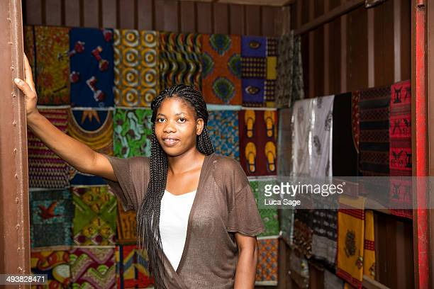 Sole trader in West Africa