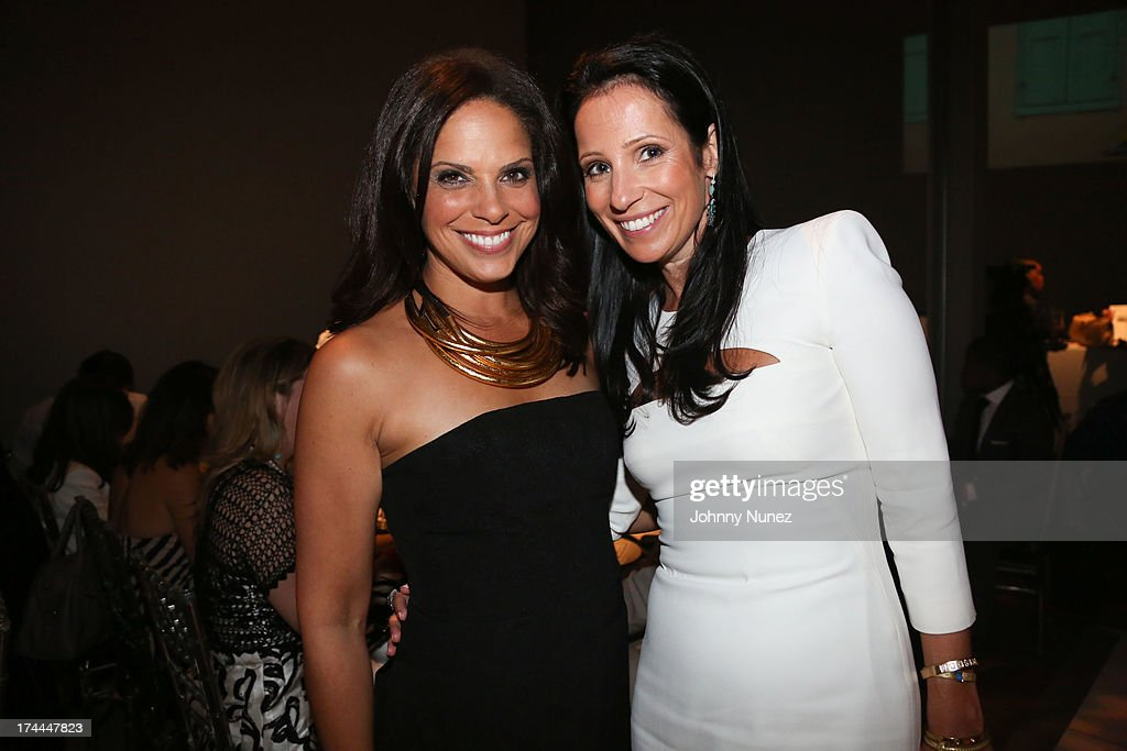Soledad O'Brien and Dana Auslander attend the 3rd Annual New Orleans to New York Benefit Gala at Donna Karan's Stephen Weiss Studio on July 25, 2013 in New York City.