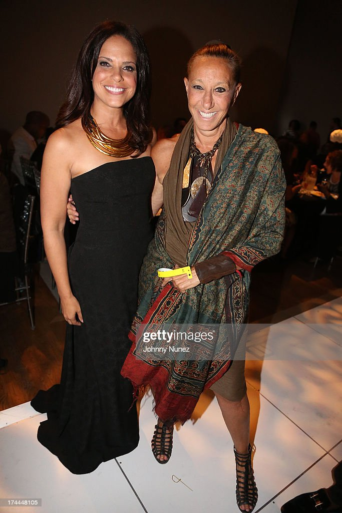 <a gi-track='captionPersonalityLinkClicked' href=/galleries/search?phrase=Soledad+O%27Brien&family=editorial&specificpeople=223926 ng-click='$event.stopPropagation()'>Soledad O'Brien</a> and Donna Karan attend the 3rd Annual New Orleans to New York Benefit Gala at Donna Karan's Stephen Weiss Studio on July 25, 2013 in New York City.