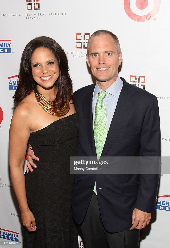 <a gi-track='captionPersonalityLinkClicked' href=/galleries/search?phrase=Soledad+O%27Brien&family=editorial&specificpeople=223926 ng-click='$event.stopPropagation()'>Soledad O'Brien</a> and husband Brad Raymond attend the 3rd Annual New Orleans to New York Benefit Gala at Donna Karen's Stephen Weiss Studio on July 25, 2013 in New York City.