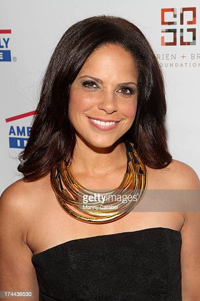 Soledad O'Brien attends the 3rd Annual New Orleans to New York Benefit Gala at Donna Karen's Stephen Weiss Studio on July 25 2013 in New York City