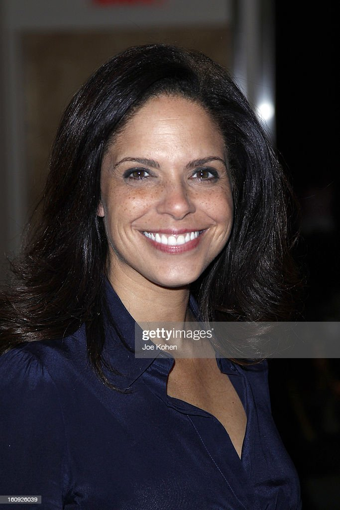 <a gi-track='captionPersonalityLinkClicked' href=/galleries/search?phrase=Soledad+O%27Brien&family=editorial&specificpeople=223926 ng-click='$event.stopPropagation()'>Soledad O'Brien</a> attends the Sukeina fall 2013 fashion show at Helen Mills Event Space on February 7, 2013 in New York City.