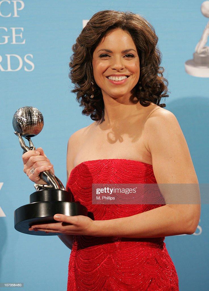 Soledad O'Brien, recipient of the NAACP President's Award