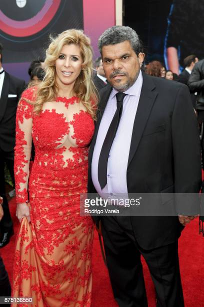 Soleil J and Luis Guzman attend The 18th Annual Latin Grammy Awards at MGM Grand Garden Arena on November 16 2017 in Las Vegas Nevada