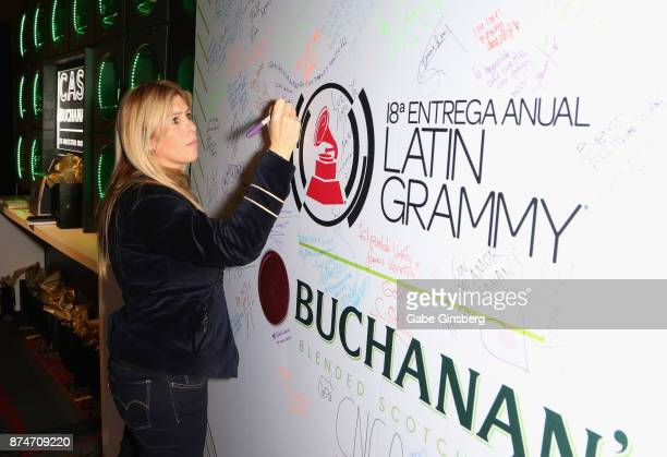 Soleil J attends the gift lounge during the 18th annual Latin Grammy Awards at MGM Grand Garden Arena on November 15 2017 in Las Vegas Nevada