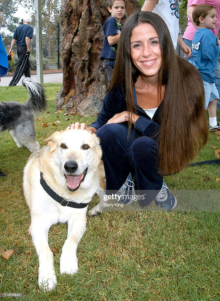Soleil Moon Frye during 4 Paws For A Cure Dogwalk to Fun National Childhood Cancer Foundation at La Brea Tar Pits in Los Angeles California United...