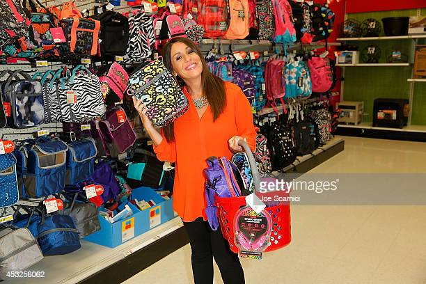 Soleil Moon Frye goes backtoschool shopping at Target on July 31 2014 in West Hollywood California