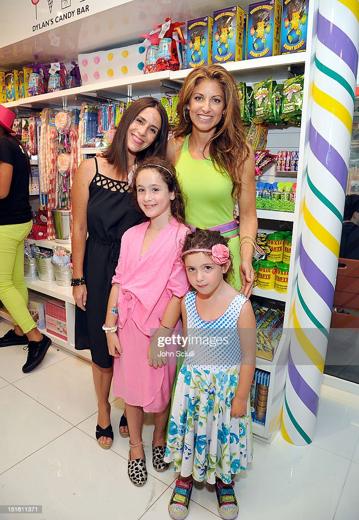 Soleil Moon Frye with daughters and CEO/Founder Dylan Lauren attend the Dylan's Candy Bar Los Angeles Opening at Original Farmers Market on September 8, 2012 in Los Angeles, California.