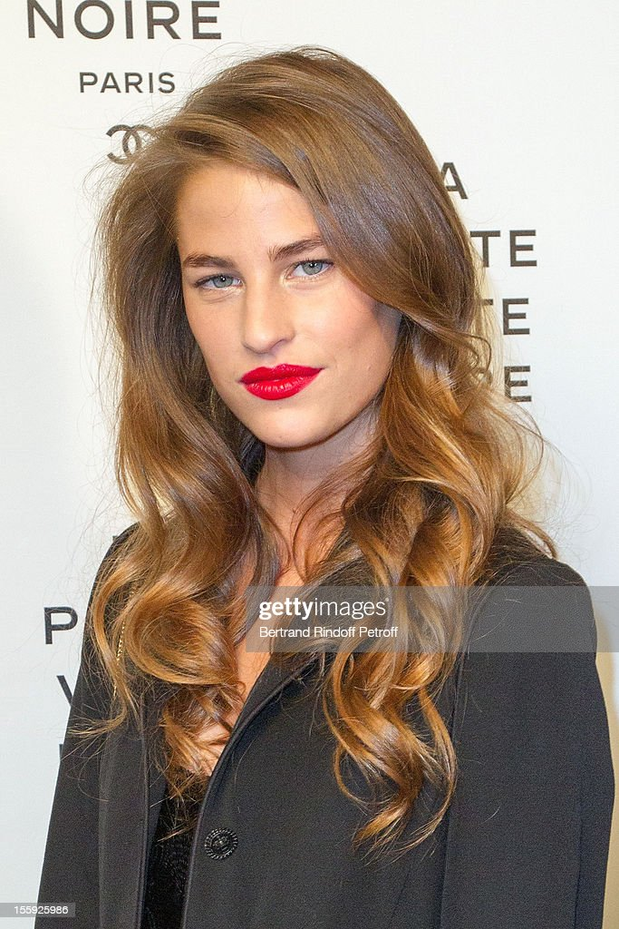 Solene Hebert attends 'La Petite Veste Noire' Book Launch Hosted By Karl Lagerfeld & Carine Roitfeld at Grand Palais on November 8, 2012 in Paris, France.